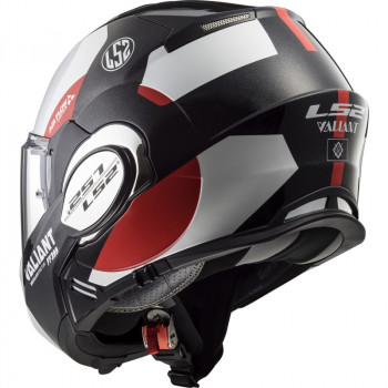 фото 7 Мотошлемы Мотошлем LS2 FF399 Valiant Avant White-Black-Red XL