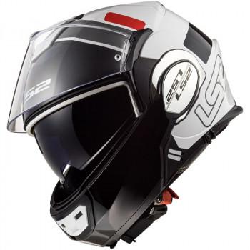 фото 12 Мотошлемы Мотошлем LS2 FF399 Valiant Prox White-Black-Red S