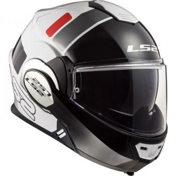 фото 3 Мотошлемы Мотошлем LS2 FF399 Valiant Prox White-Black-Red S
