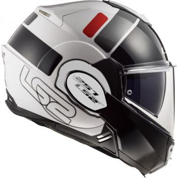 фото 4 Мотошлемы Мотошлем LS2 FF399 Valiant Prox White-Black-Red S