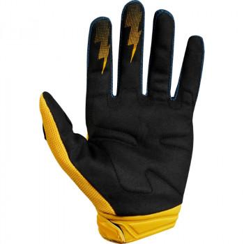 фото 2 Мотоперчатки Мотоперчатки Fox Dirtpaw Race Glove Navy-Yellow L (10)