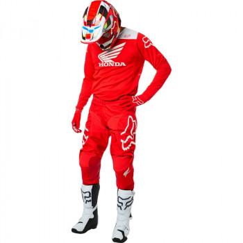 фото 4 Кроссовая одежда Мотоджерси Fox 180 Honda Jersey Red M