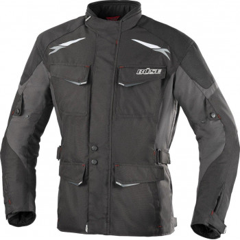 фото 1 Мотокуртки Мотокуртка BUSE Lago II Jacke Black-Anthracite 4XL