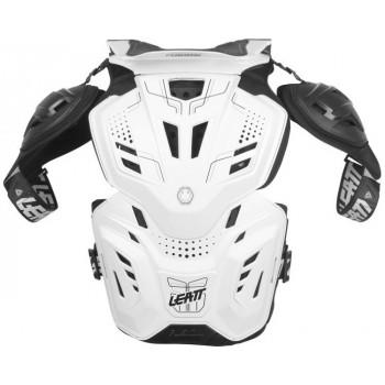 фото 3 Моточерепахи Моточерепаха с защитой шеи Leatt Fusion 3.0 White S-M (2015)