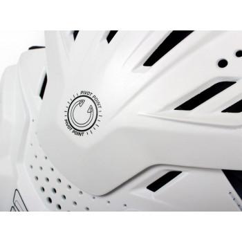 фото 7 Моточерепахи Моточерепаха с защитой шеи Leatt Fusion 3.0 White S-M (2015)