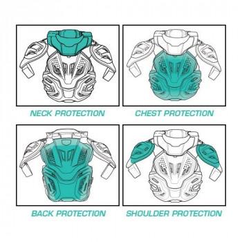 фото 9 Моточерепахи Моточерепаха с защитой шеи Leatt Fusion 3.0 White S-M (2015)
