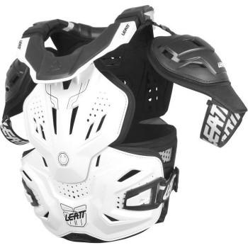 фото 1 Моточерепахи Моточерепаха с защитой шеи Leatt Fusion 3.0 White 2XL (2015)