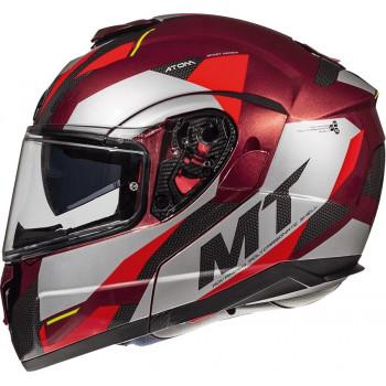 фото 4 Мотошлемы Мотошлем MT Atom SV Transcend Grey-Black-Red L (2019)