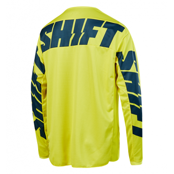 фото 2 Кроссовая одежда Мотоджерси Shift Whit3 York Jersey Yellow-Navy L