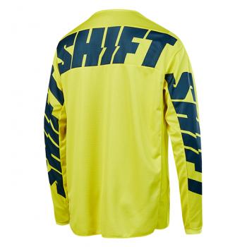 фото 2 Кроссовая одежда Мотоджерси Shift Whit3 York Jersey Yellow-Navy XL