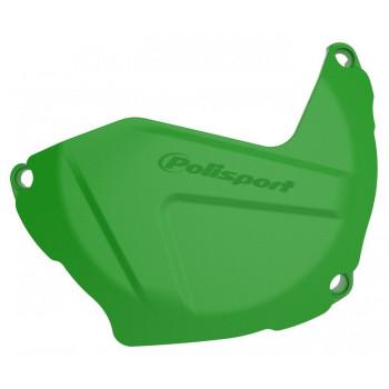 фото 1 Замена пластика на кроссовые мотоциклы Защита крышки сцепления Polisport Clutch cover protector Green