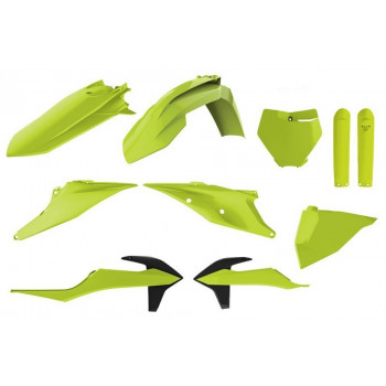 фото 1 Замена пластика на кроссовые мотоциклы Комплект пластика  Polisport MX kit for KTM Flo Yellow