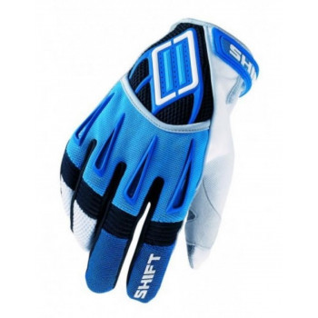 фото 1 Мотоперчатки Мотоперчатки SHIFT Mach MX Glove Blue L (10)