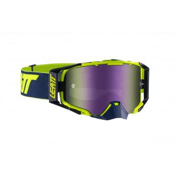 фото 1 Кроссовые маски и очки Мотоочки Leatt Goggle Velocity 6.5 Iriz Blue 55% Ink-Lime