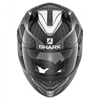 фото 2 Мотошлемы Мотошлем Shark Ridill Stratom Matt Antracite-Black-White S