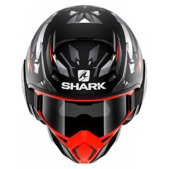 фото 2 Мотошлемы Мотошлем Shark Street Drak Kanhji Matt Black-Orange-Silver L