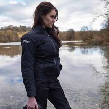 фото 3 Мотокуртки Мотокуртка женская RST Gemma 2 Vented CE Ladies Textile Jacket Black 10