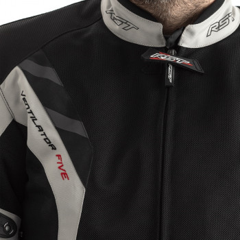 фото 3 Мотокуртки Мотокуртка RST Pro Series Ventilator 5 CE Textile Jacket Silver-Black 54