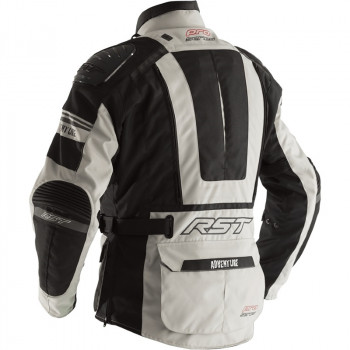 фото 2 Мотокуртки Мотокуртка RST Pro Series Adventure 3 CE Textile Jacket Silver-Black 56
