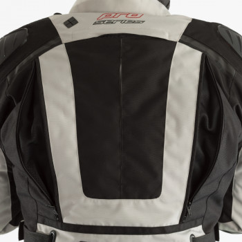 фото 5 Мотокуртки Мотокуртка RST Pro Series Adventure 3 CE Textile Jacket Silver-Black 56