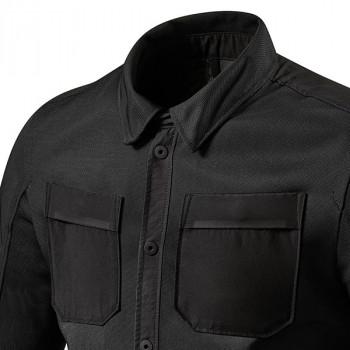 фото 3 Повседневная одежда и обувь Рубашка REVIT Tracer Air Black 2XL