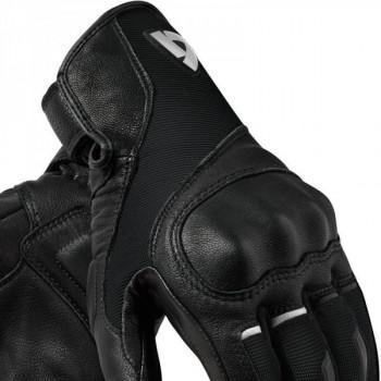 фото 3 Мотоперчатки Мотоперчатки REVIT Titan Black-White 3XL