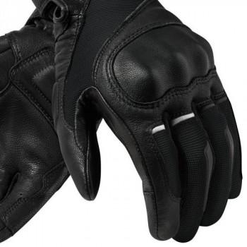фото 4 Мотоперчатки Мотоперчатки REVIT Titan Black-White 4XL