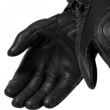 фото 2 Мотоперчатки Мотоперчатки REVIT Titan Black-White 4XL