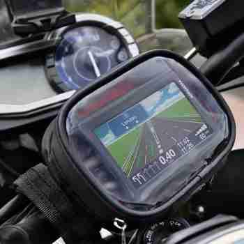 фото 2 Чехлы для мотонавигаторов Чехол для навигатора Oxford Strap-Nav Sat Nav Holder