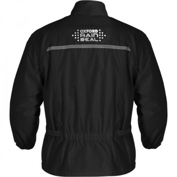 фото 3 Дождевики  Дождевая мотокуртка Oxford Rainseal Over Jacket Black 5XL