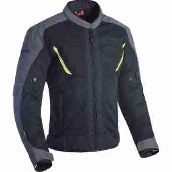 фото 1 Мотокуртки Мотокуртка Oxford Delta 1.0 Air Jacket Black-Grey-Fluo 3XL