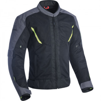 фото 1 Мотокуртки Мотокуртка Oxford Delta 1.0 Air Jacket Black-Grey-Fluo L