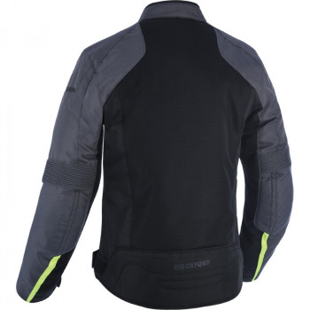 фото 2 Мотокуртки Мотокуртка Oxford Delta 1.0 Air Jacket Black-Grey-Fluo L