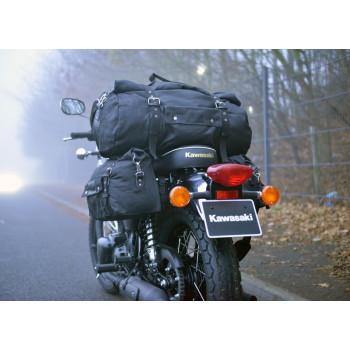 фото 5 Мотокофры, мотосумки  Мотосумка на хвост Oxford Heritage Roll Bag Black 20L