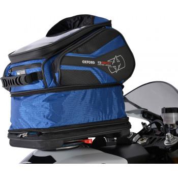 фото 2 Мотокофры, мотосумки  Мотосумка на бак Oxford Q30R QR Tank Bag Blue