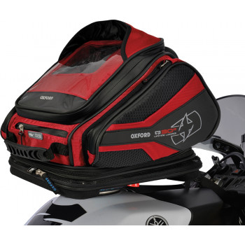 фото 1 Мотокофры, мотосумки  Мотосумка на бак Oxford Q30R QR Tank Bag Red