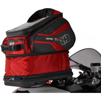 фото 2 Мотокофры, мотосумки  Мотосумка на бак Oxford Q30R QR Tank Bag Red