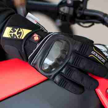 фото 2 Мотоперчатки Мотоперчатки Scoyco MC33 Black 2XL