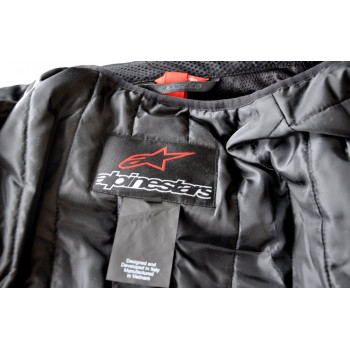 фото 8 Мотокуртки Мотокуртка Alpinestars T-GP Plus R V2 Black-Anthracite 3XL