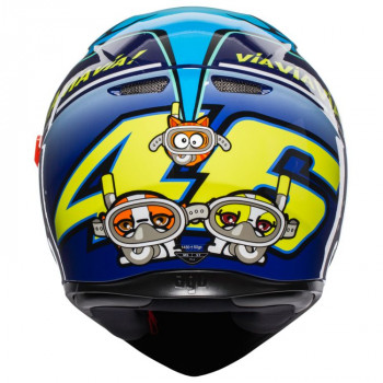 фото 5 Мотошлемы Мотошлем AGV K-3 SV Rossi Misano 2015 Blue ML