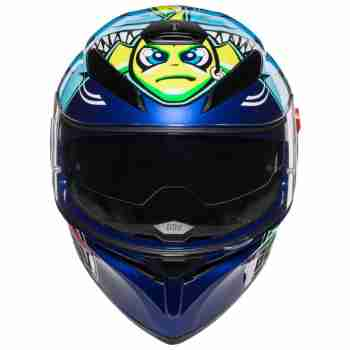 фото 2 Мотошлемы Мотошлем AGV K-3 SV Rossi Misano 2015 Blue MS