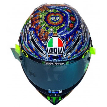 фото 2 Мотошлемы Мотошлем AGV Pista GP R Rossi Winter Test 2018 Ltd. Blue ML