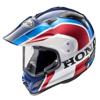 фото 1 Мотошлемы Мотошлем Arai Tour-X4 Honda African Twin 2018 White-Blue-Red S