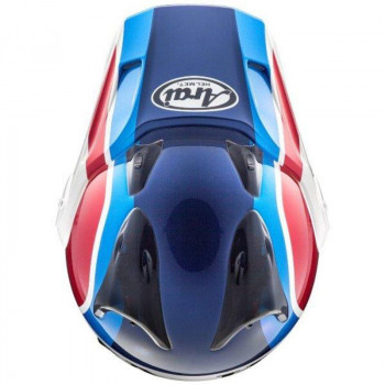 фото 3 Мотошлемы Мотошлем Arai Tour-X4 Honda African Twin 2018 White-Blue-Red S