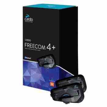 фото 2 Мотогарнитуры и переговорные устройства Мотогарнитура Cardo Scala Rider Freecom 4+ JBL Dual Pack