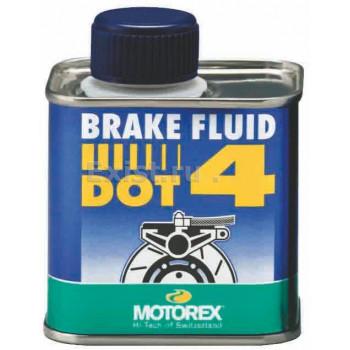 фото 1 Моторные масла и химия Жидкость тормозов и сцепления Motorex DOT 4 Brake Fluid 250мл