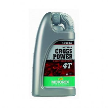 фото 1 Моторные масла и химия Масло моторное Motorex Cross Power 4T 10W50 1л