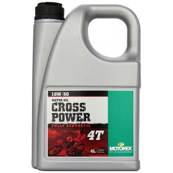 фото 1 Моторные масла и химия Масло моторное Motorex Cross Power 4T 10W50 4л