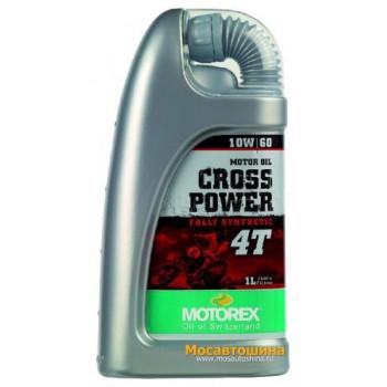 фото 1 Моторные масла и химия Масло моторное Motorex Cross Power 4T 10W60 1л