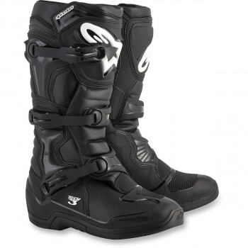 фото 1 Мотоботы Мотоботы Alpinestars Tech-3 New Black 43(9)